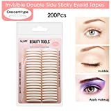 Best Eyelid Tapes - Ultra Invisible Double Eyelid Tape Stickers - 200Pcs/100Pairs Review