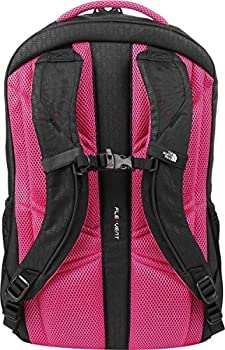 The North Face Women's Vault Backpack - Tnf Black Embosspetticoat Pink - One Size (Past Season) 3