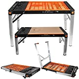 Multi Function Work Bench Power Station Scaffold Creeper Dolly 5 in 1 Platform