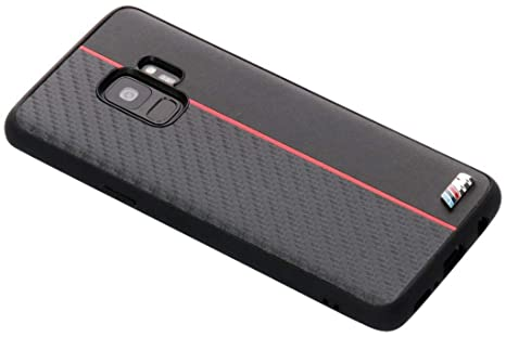 low priced f6a33 c482d BMW BMHCS9CAPRBK M Edition Bi-Material Case for Samsung: Amazon.co ...