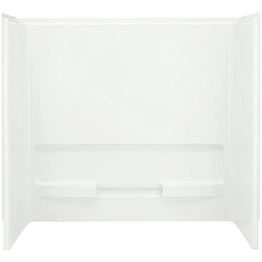 Sterling 61034100 0 Advantage Bath And Shower Wall Set Only White   Shower  Wall Surrounds   Amazon.com