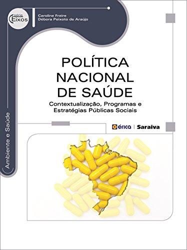 Política Nacional de Saúde. Contextualização, Programas e Estratégias Públicas Sociais