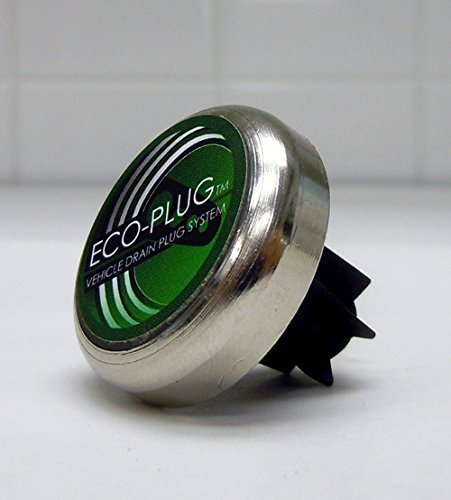 10MM – 14MM Magnetic Oil Drain Plug by ECO-PLUG, the Only Threadless Magnetic Drain Plug for Steel Oil Pans. Universal Sizing, Installs in Seconds, Easily Removed, Permanently Replaces Leaking Plugs ()