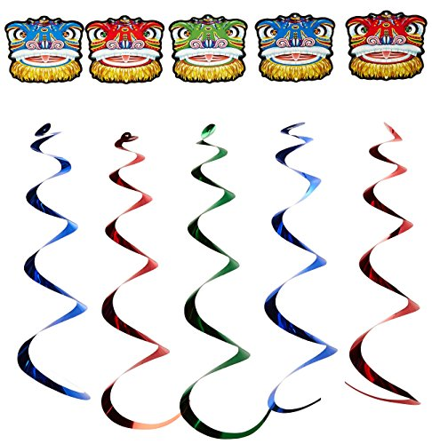 Dragon Whirls   (5/Pkg) ()
