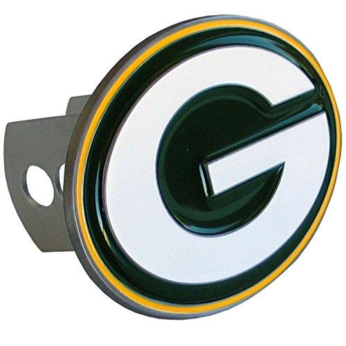 Green Bay Packers Cover - Siskiyou NFL Green Bay Packers Large Logo Hitch Cover, Class II & III