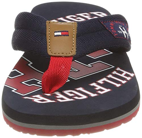 Infradito Essential Tommy Sandal TH Hilfiger Beach 403 Midnight Blu Uomo Wqnv6aP