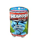 Hearos Ear Plugs Xtreme Protection Series 14 pairs (Pack of 3)