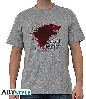 ABYstyle Juego de Tronos – Camiseta el Norte Recuerda: Amazon.es: Juguetes y juegos