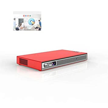 GJZhuan Proyector T5, Es Compatible con El Teléfono Móvil con La ...