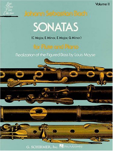 Bach: Sonatas for Flute and Piano, Volume 2