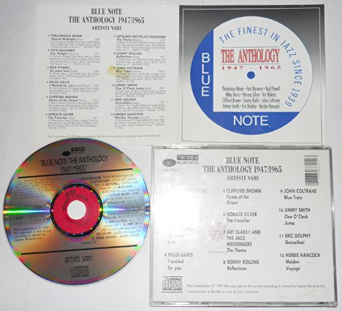 John Miles - Blue Note- The Anthology 1947/1965 - Zortam Music