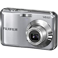 Fujifilm FinePix AV200 14 MP Digital Camera with Fujinon 3x Optical Zoom Lens (Silver) Overview Review Image