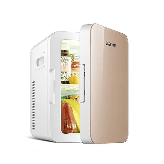 Mini nevera Refrigerador pequeño Refrigerador de 8L for el hogar ...