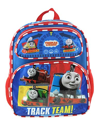 """Thomas The Train 12"""" Toddler Size Backpack - #1 Train A16613"""