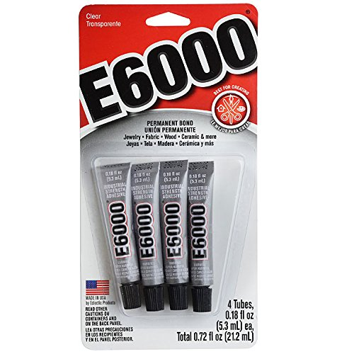 E6000 5510310 Craft Adhesive Mini (4 Pack) -