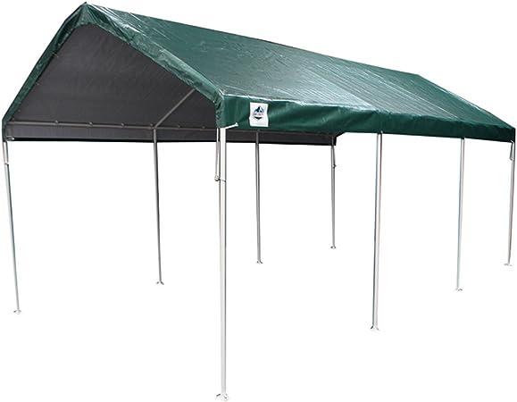 Amazon Com King Canopy C81020pcg 10 X 20 Universal 8 Leg Canopy Green Garden Outdoor