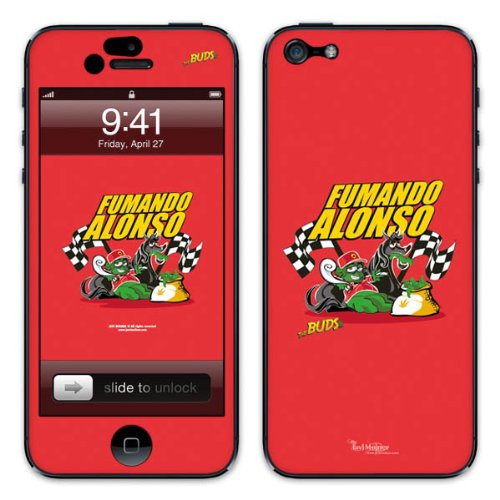 Diabloskinz B0081-0066-0057 Vinyl Skin für Apple iPhone 5/5S Fumondo Alonso