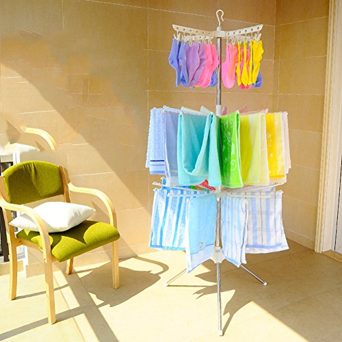 Baby folding sweater drying rack,Home kids clothes hanger fl
