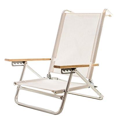 Surprising Amazon Com Yangman Portable Folding Beach Chair 5 Position Caraccident5 Cool Chair Designs And Ideas Caraccident5Info