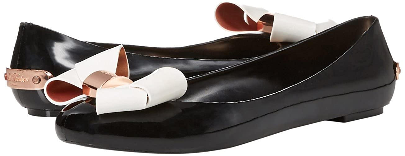 263249badc Ted Baker Women's Faiyte Jelly Sandal, Black/Cream, 9 M US: Buy Online at  Low Prices in India - Amazon.in