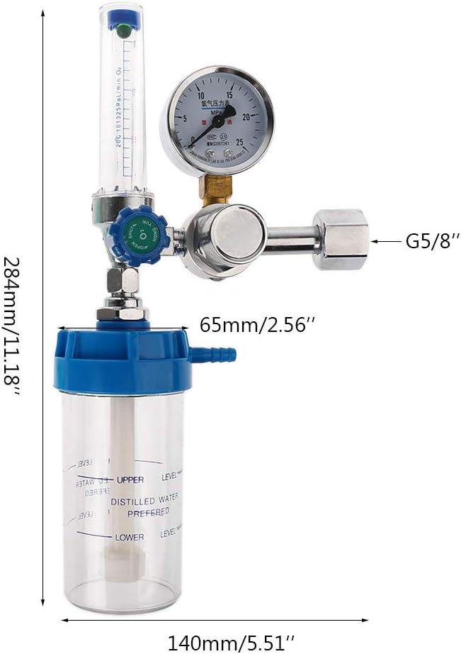 1-10pc Oxygen Inhalator Meter Medical Pressure Reducing Valve Pressure Regulator