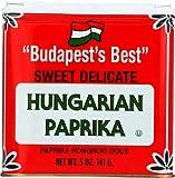 Bascoms Paprika Hungarian 5.0 OZ (Pack of 12)