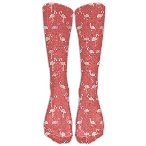 FUNINDIY Skull Mermaid Athletic Tube Socks Women Men High Socks Crazy Socks
