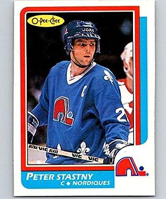 Amazon.com  1986-87 O-Pee-Chee  20 Peter Stastny Nordiques NHL ... cd1d3fd3e
