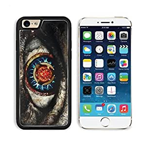 Impressive Eye Artistic Abstract Design Apple iPhone 6 TPU Snap Cover Premium Aluminium Design Back Plate Case Customized Made to Order Support Ready Luxlady iPhone_6 Professional Case Touch Accessories Graphic Covers Designed Model Sleeve HD Template Wallpaper Photo Jacket Wifi Luxury Protector Wireless Cellphone Cell Phone