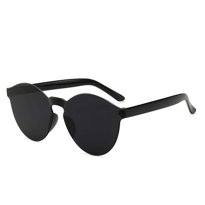 Amazon.com: Gafas de sol planas para mujer, de lujo, de ...