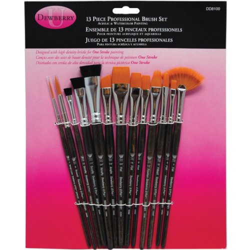 (Weber DD8100 Donna Dewberry Professional Brush Set, 13 Per Package )
