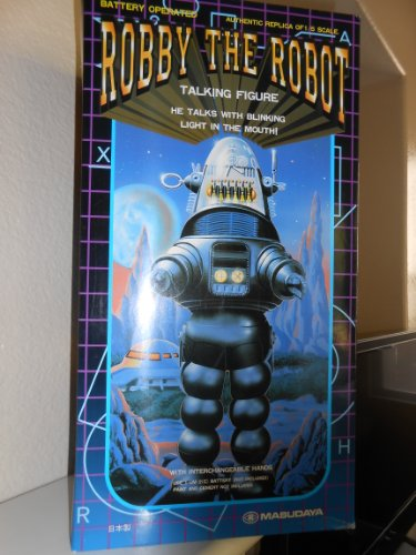 """Robby the Robot Model 16"""" Talking with Blinking Lights"""