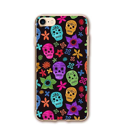 iPhone 7 iPhone 8 Case Halloween Wallpaper Skull