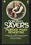 Murder Must Advertise, Dorothy L. Sayers, 0380009161