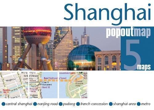 Shanghai PopOut Map (Footprint PopOut Map)