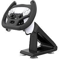 Tomshin substituição do volante de jogos para PS5 Controle remoto de jogos Real Racing Wheel Driving Punho de jogos…