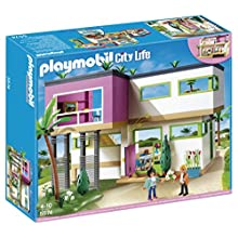 PLAYMOBIL Mansión Moderna Playset Completo (5574)