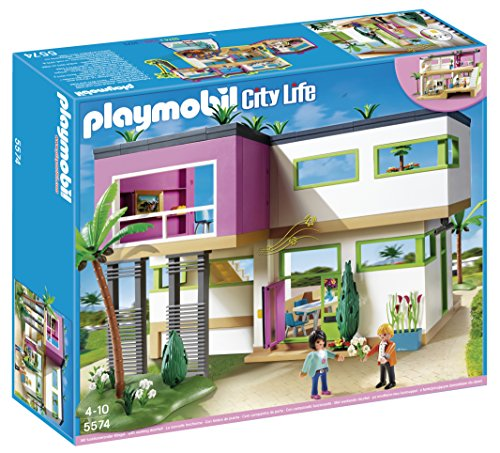 PLAYMOBIL Modern Luxury Mansion Play Set Modern Mansion
