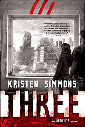Image result for Three by Kristen Simmons