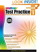 #9: Spectrum Test Practice, Grade 1