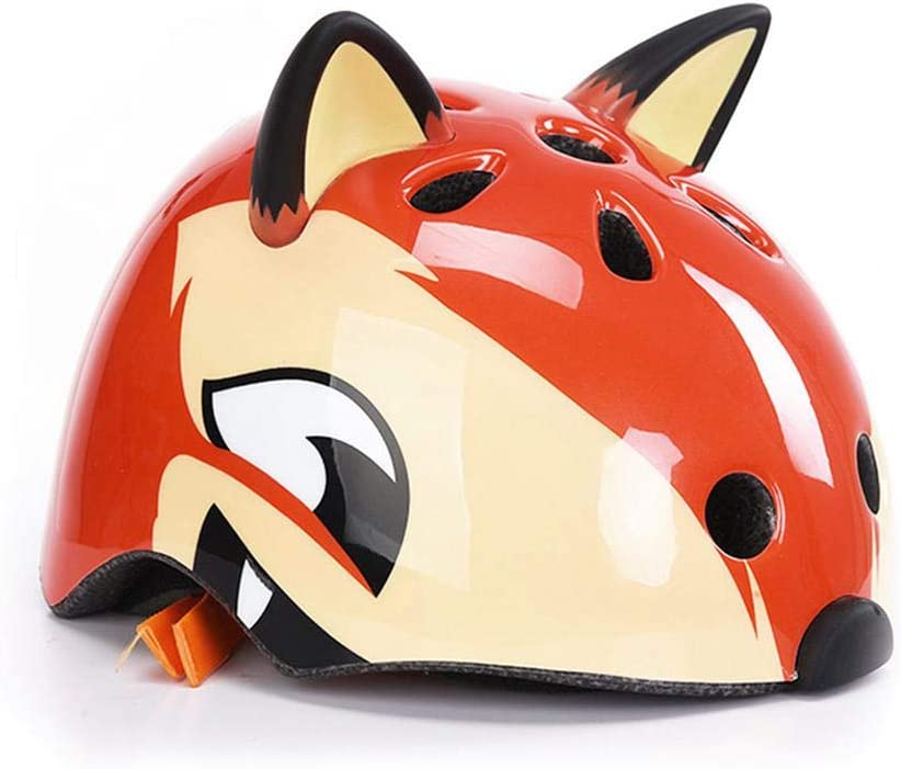 Womdee Multi-Sports Helmet for Kids Bear Adjustable Shock-Absorbent Helmet for Boys /& Girls Cartoon Safety Helmet for Cycling//Skateboard//Scooter//Skating//Roller Blading 3-12 Yrs
