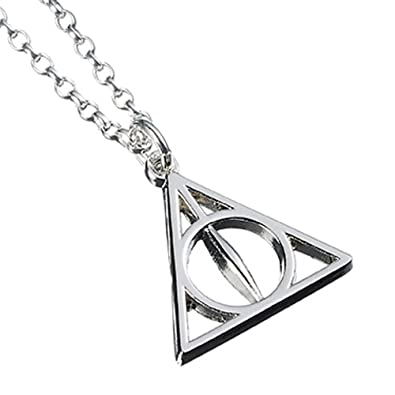 18b24f3097b63 Official Sterling Silver Harry Potter Jewellery Deathly Hallows Necklace