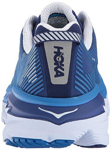 Hoka Een Een Mens Bondi 5 Sportschoen Blauwdruk / Wit