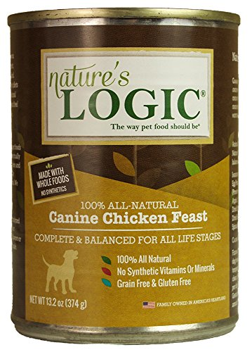 Nature's Logic Canine Chicken Feast, 12/13.2oz