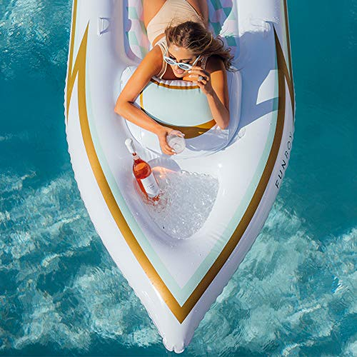 FUNBOY Giant Inflatable Yacht Pool Float by FUNBOY (Image #3)