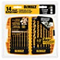 DEWALT DW1354 14-Piece Titanium Drill Bit Set from DEWALT