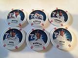 2013 Topps Chipz Texas Rangers Team Set 6 Poker Chips