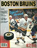The Official Yearbook of the Boston Bruins, 1987-1988