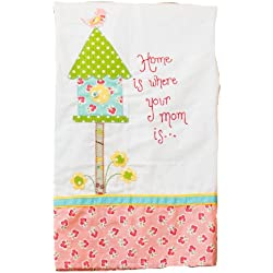 Glory Haus Home is Where Your Mom is Tea Towel, 19 by 25-Inch