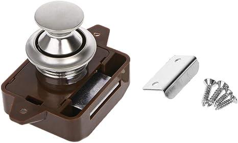 serrures /à bouton-poussoir pour bateau de voiture Serrure /à poussoir pour armoire